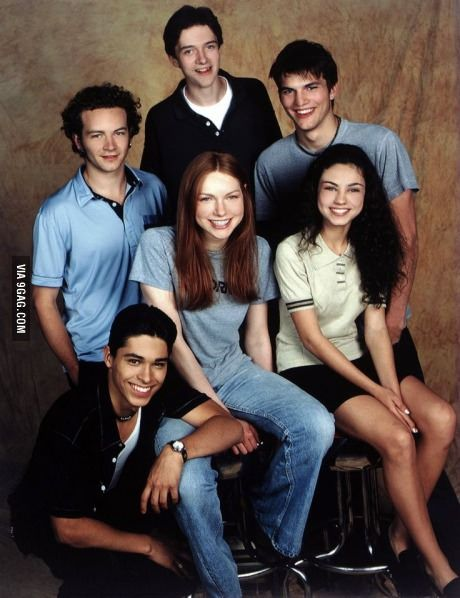 17 years ago today That 70's Show cast met for the first time