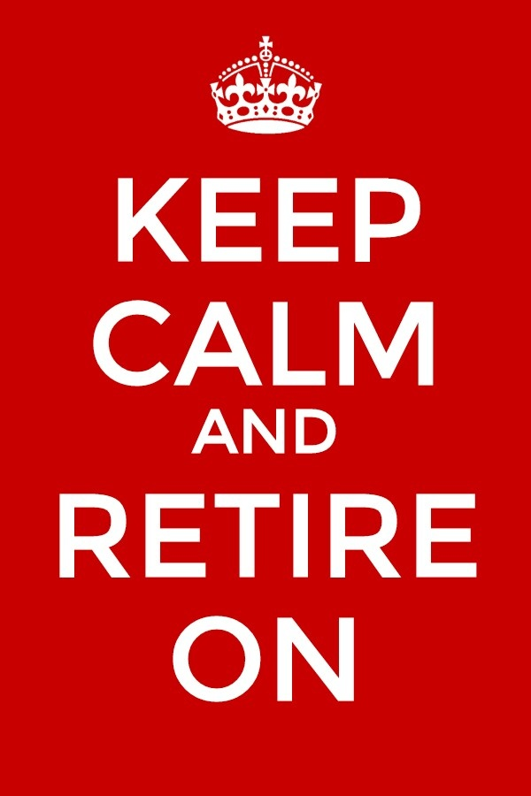 Retirement  www.retirementontario.ca I save money so that I can retire in peace
