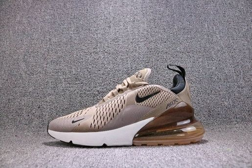 Nike Air Max 270 Sepia Stone Black Summit White 2018 Casual Running Shoes Sneakers Ah8050 200