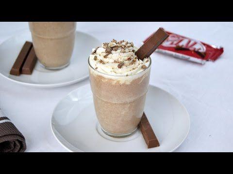 Kit Kat Milkshake - Easy Homemade Kit Kat Milkshake Recipe - YouTube