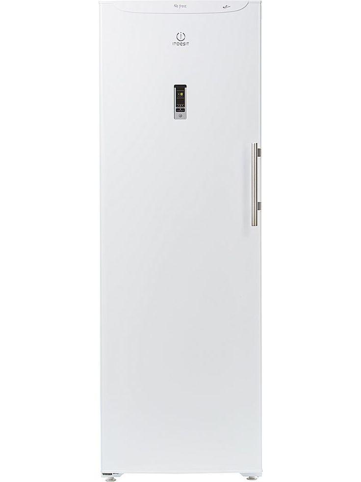Indesit IUPSO 1721 F J frys. Frysskåpet rymmer 220 liter, har en ljudnivå på 42 dB och en infrysningskapacitet på elva kg/dygn.