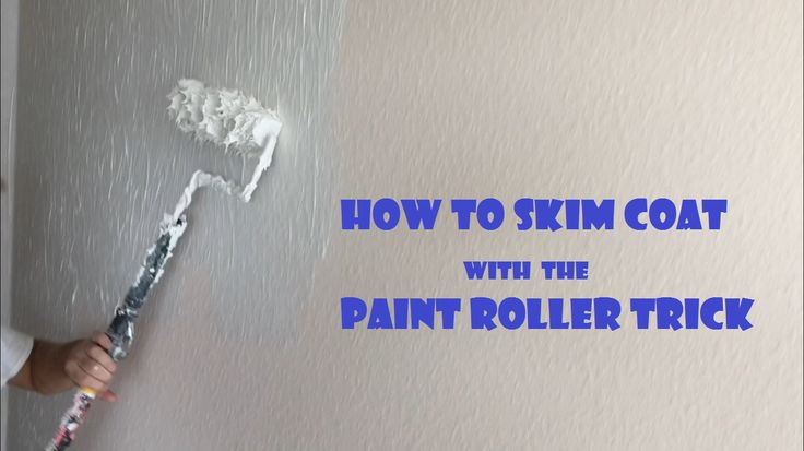 This how to skim coat trick is a great way for anyone from DIYers to contractors to apply a skim coat to drywall and plaster walls or ceilings.
