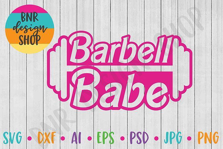 Download Barbell Babe Svg Fitness Svg Exercise Svg Svg File 489720 Svgs Design Bundles In 2020 Barbell Design Bundles Design