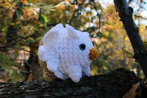 Marshmallow Griffin crochet pattern