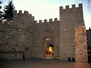 Gate of Bursa Castle-Orhan, with the help of Jihad commanders at the head of his forces of light cavalry, started a series of conquests of Byzantine territories in northwest Anatolia. First, in 1321, Mudanya was captured on the Sea of Marmara, which was the port of Bursa. He then sent a column under Konur Alp towards West Black Sea coast; another column under Aqueda to capture Kocaeli, and finally a column to capture the southeast coast of the Sea of Marmara. Then, he captured the city of…