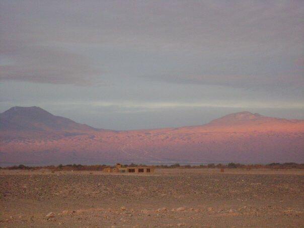 Tambo en el desierto de Atacama