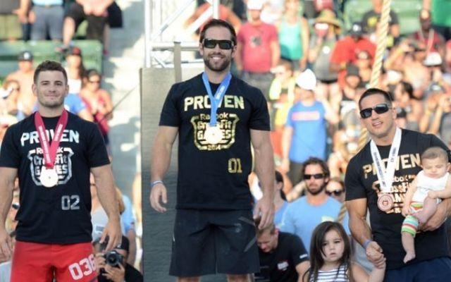 Rich Froning, The King ai CrossFit Games 2014 #richfroning #crossfit #games #podio