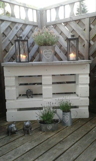 20 Ideas for pallet recycling for your garden. Absolutely to copy!   – Garten