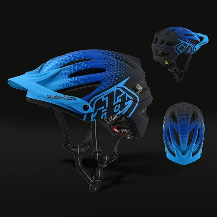 38d19aea4 TROY LEE DESIGNS A2 STARBURST HELMET OCEAN Availaible now at XClub leading  stores! COOLER FASTER