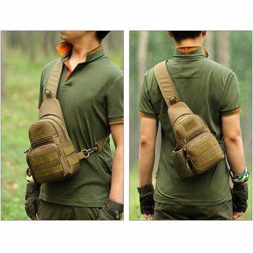 Men's Tactical Shoulder Bag Backpack Sling Chest Bag Assault Pack Messenger Bag is worth buying - NewChic