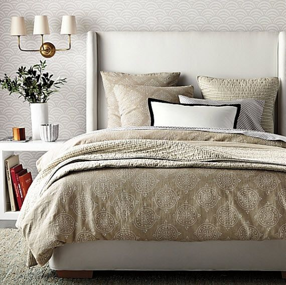 40 best wall texture images on pinterest modern for Neutral bedroom wallpaper