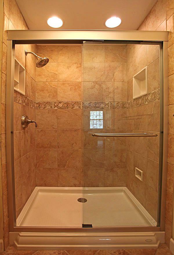 50 best Bathroom renovation tan\/beige tub\/tile\/floors ideas images - shower ideas for small bathroom