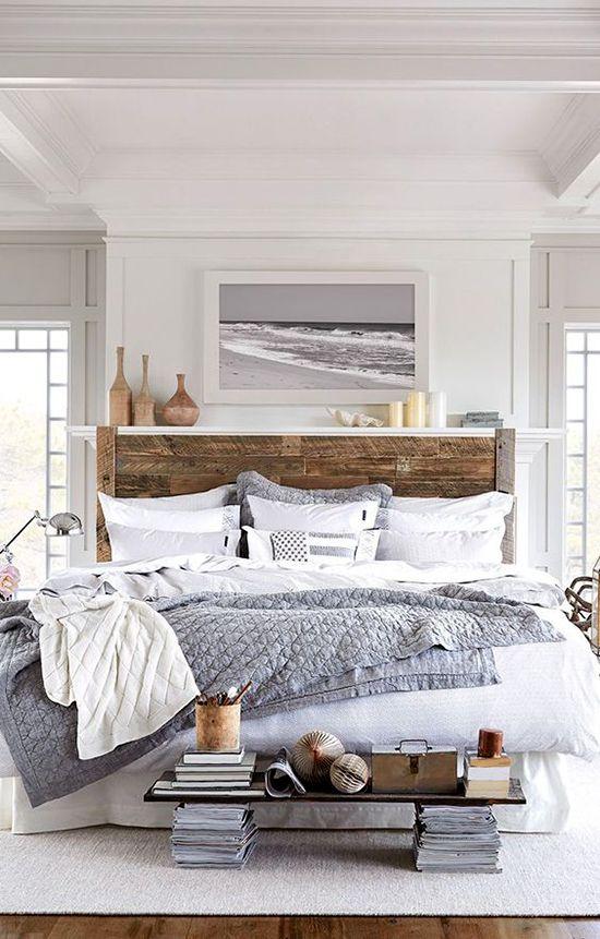 10 chambres qui donnent envie de rester couchée Après la déferlante de festivités, on peut enfin se poser et passer une journée en pyjama! On s'inspire de ces 10 chambres pour se créer un décor inspirant et invitant.