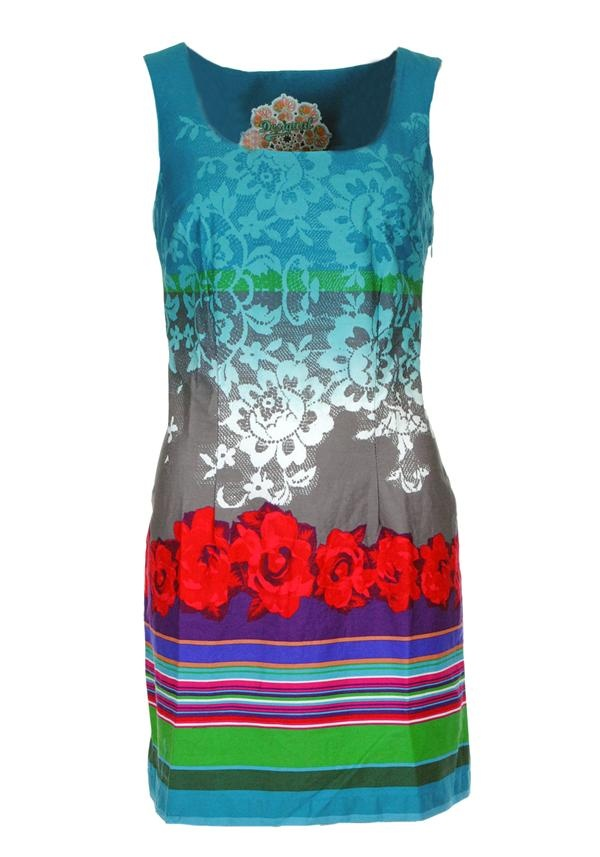 Desigual Pichi Shift Dress, Multi