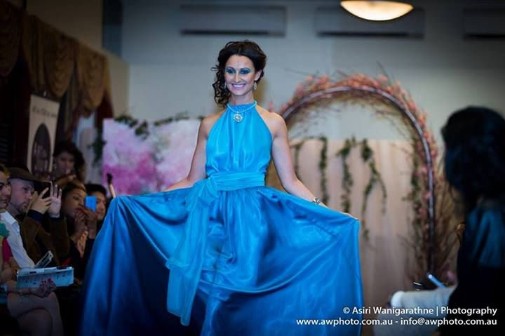 ART du JOUR by Leiela MSFW 2013 – The Spring Parade Runway featuring Leiela's Harlow Gown