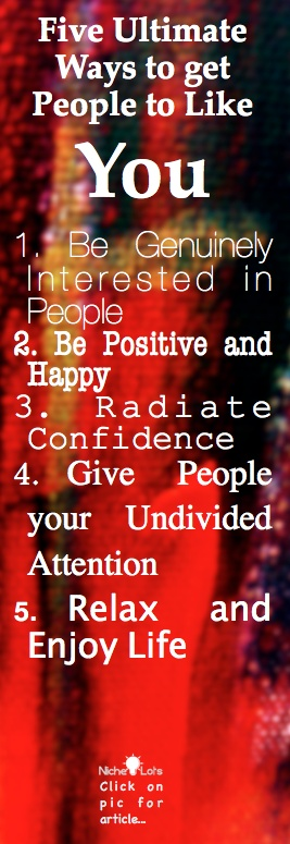 5 Ultimate Ways to get People to Like You. Click on pic for article...: True Stuff, Ultimate Spider-Man, Inspiration, Positive Quotes Pics, Click, Interesting Articles, Random Stuff, Like You, People