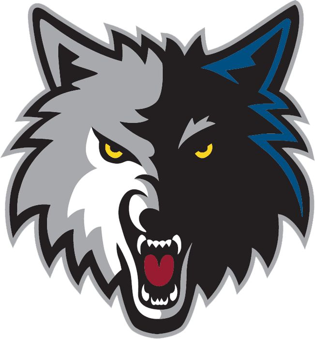Minnesota Timberwolves Alternate Logo (2009) - A wolf head