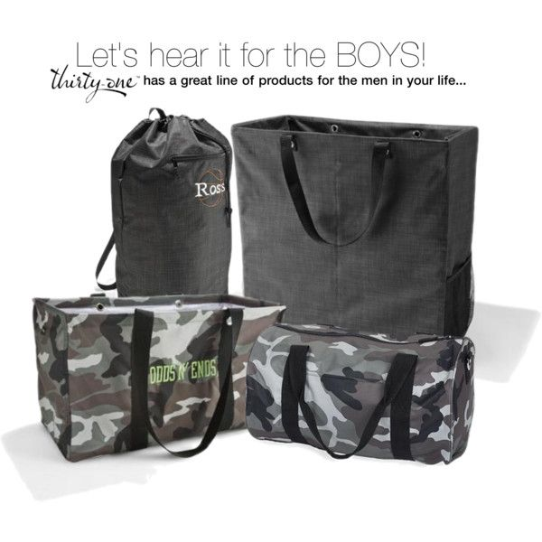 """Thirty one for men""  This s an awesome collection for the man in your life! Great Christmas presents for those guys who love to hunt !!!  BOOK YOUR PARTY TODAY  www.mythirtyone.com/clarefulcher"
