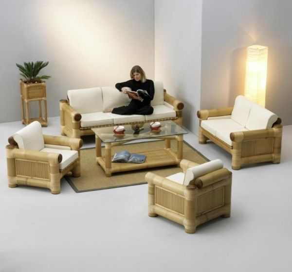 40 Rustic Bamboo Interior Designs And Crafts Bamboo Furniture