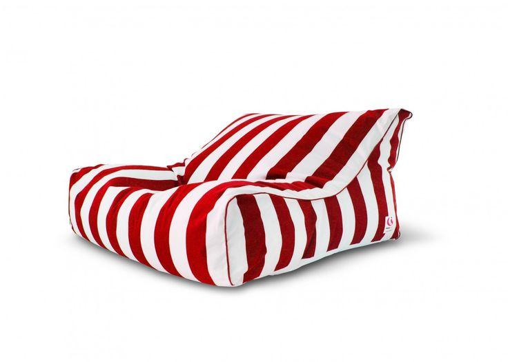 St Tropez Striped Bean Bag Cover