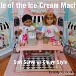 Camp Doll Diaries: Battle of the Ice Cream Machines - Soft Serve VS Churn Style