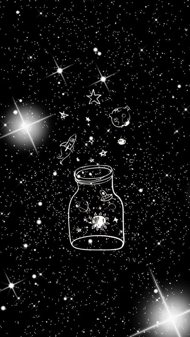 Pin By Deja Wilcox On Backgrounds Wallpaper Space Galaxy Wallpaper Cute Black Wallpaper