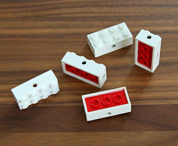 Vintage Lego axle bricks