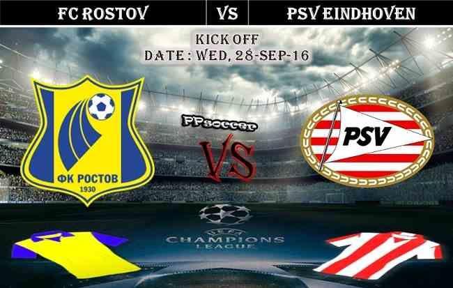 FC Rostov vs PSV Eindhoven 28.09.2016 Predictions - PPsoccer