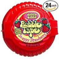 Hubba Bubba Bubble Tape Snappy Strawberry