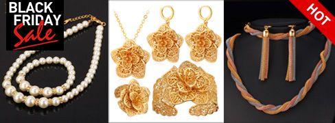Gioielli placcati oro Fancy