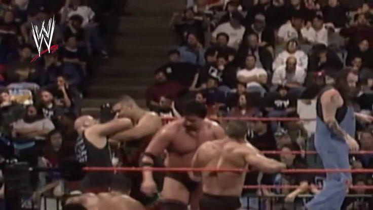 The Rock  vs Stone Cold Steve Austin vs Mankin vs Mark Henry and more l ...