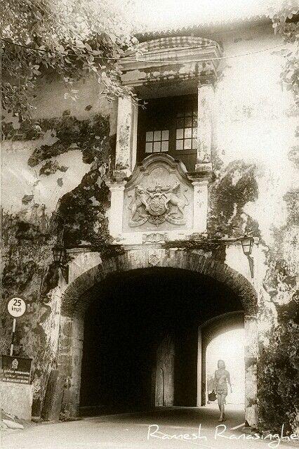 Dutch Fort entrance, Galle, Sri Lanka