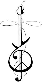 Image result for peace sign tattoo