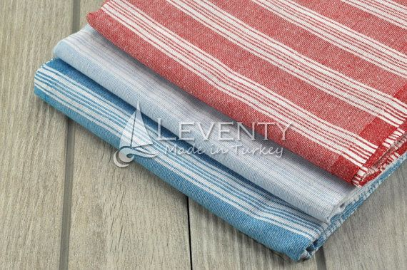 Tribal Towel Set of 3 Colorful Pareos Bathtub Mats by LEVENTY. Best prices around