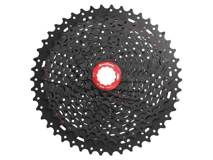 SunRace MX8 11-Speed bike Cassette Bicycle Freewheel MX 11-Speed Wide-Ratio Cassette 11-40/42/46T 2colors Black/Champagne //Price: $151.95 & FREE Shipping //     #hashtag3