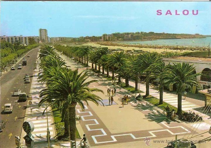 Vintage Salou - Costa Daurada, Catalonia.