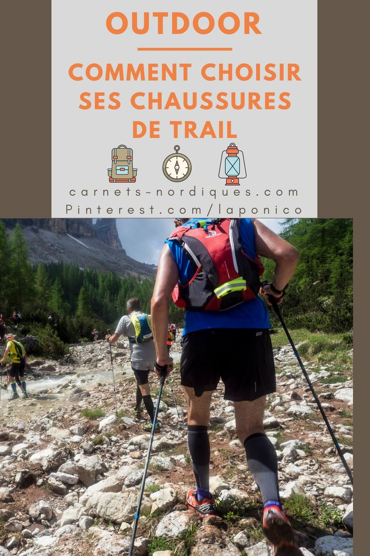 conseils pour bien choisir ses chaussures de #trail et #running