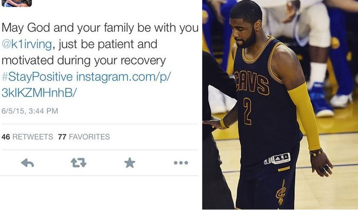 Best And Worst Twitter Reactions To Kyrie Irving's Injury