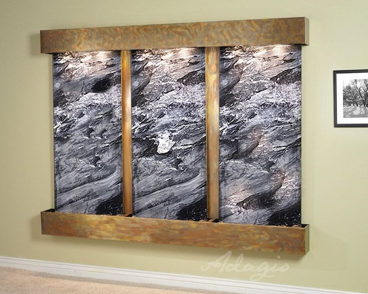 The Deep Creek Wall Mounted Water Feature Is Incredibly Large And Will  Definitely Attract A Lot
