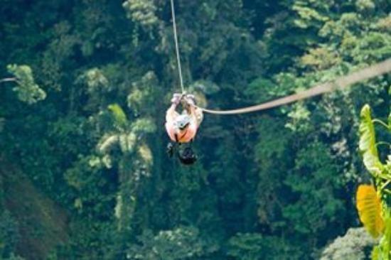 3 hr zip line in arenal volcano region - Costa Rica
