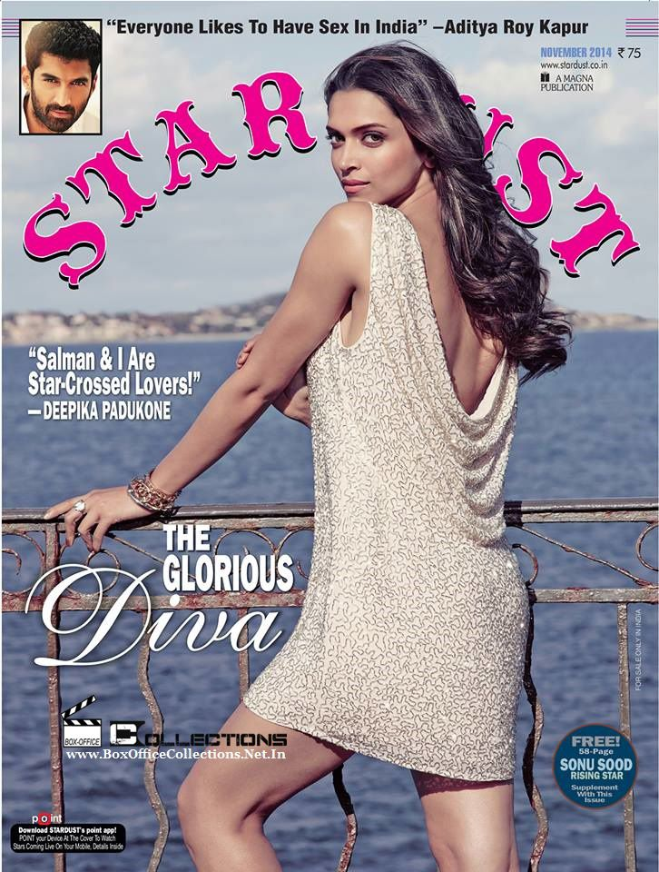 Deepika Padukone is the Cover Girl of Stardust Magazine November 2014 Issue | BoxOfficeCollections