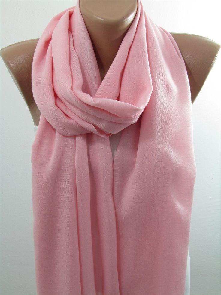 Pink Pashmina Scarf Shawl Women Cowl Scarf  Women Accessories  www.scarfclub.net