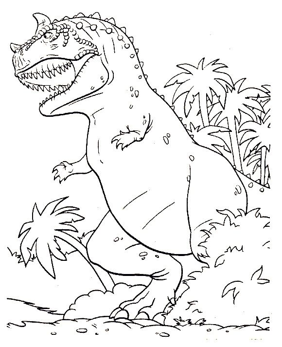 Dinosaur Coloring Pages For Kids Procoloring