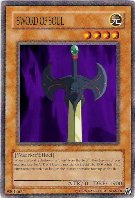 Sword Of Soul Yu Gi Oh Pinterest Swords