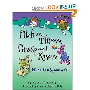 "We have been exploring ""shades of meaning"" aka synonyms for the last week to spruce up our writing.   First we read this book:           The..."
