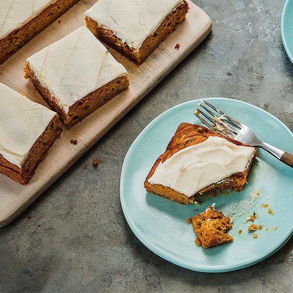 Pumpkin Zucchini Snack Cake