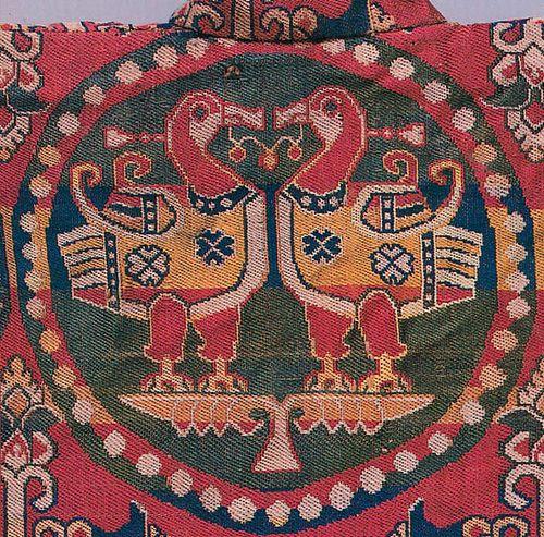 Child's coat, Sogdian samite silk, 8thc, Pritzer collection, Chicago: