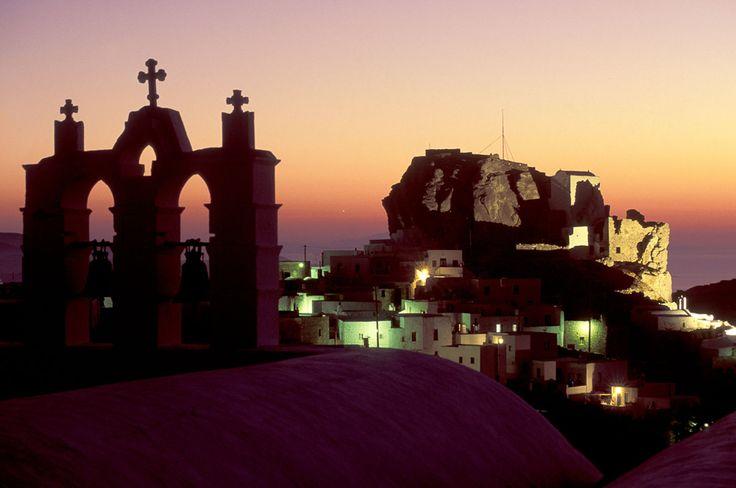 Dusk settles over #Amorgos Island, #Greece