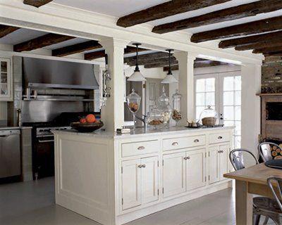 Kitchens With Columns best 25+ support beam ideas ideas on pinterest | basement pole