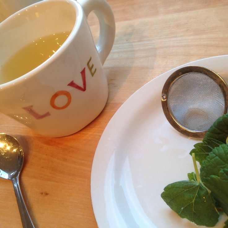 Lag din egen te fra hagen.